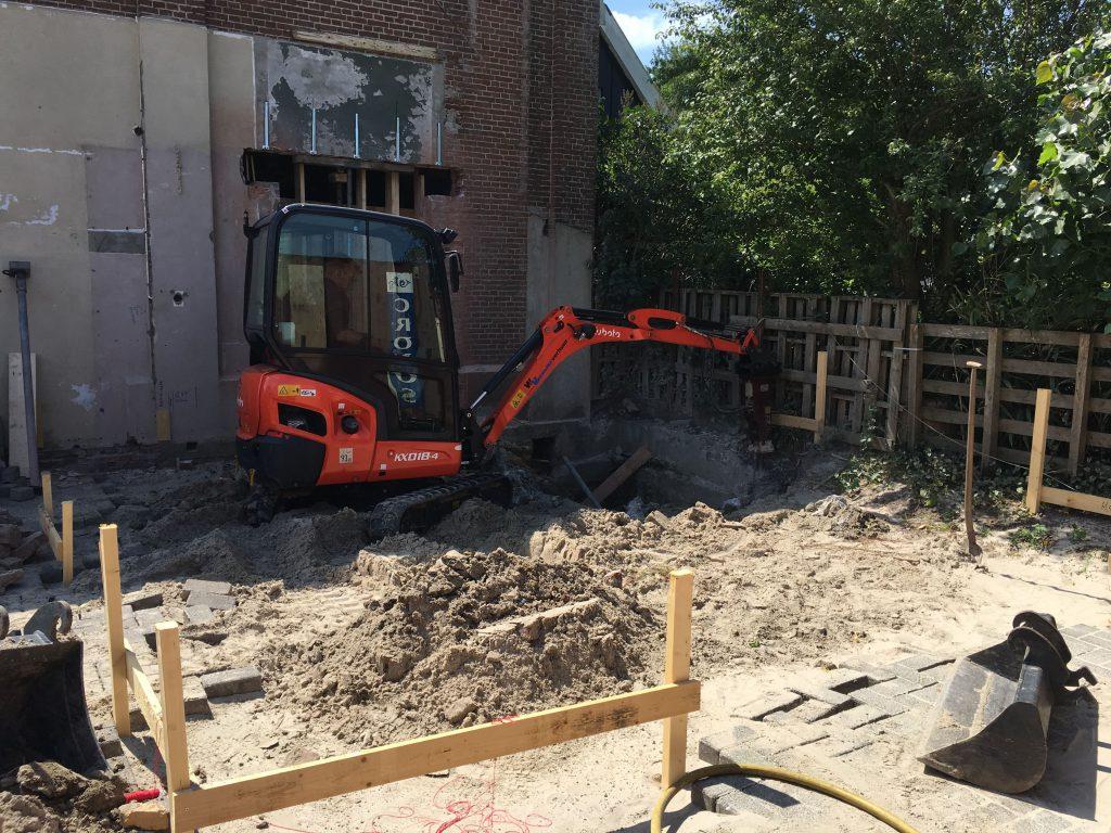 Voorbereiding beton
